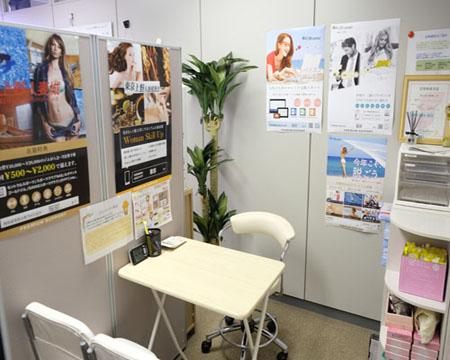 生理フェチ専門店 月経仮面の待機所自慢!打ち合わせスペースも綺麗♪について