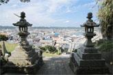 小浜八幡神社からの街並みの写真<br />
