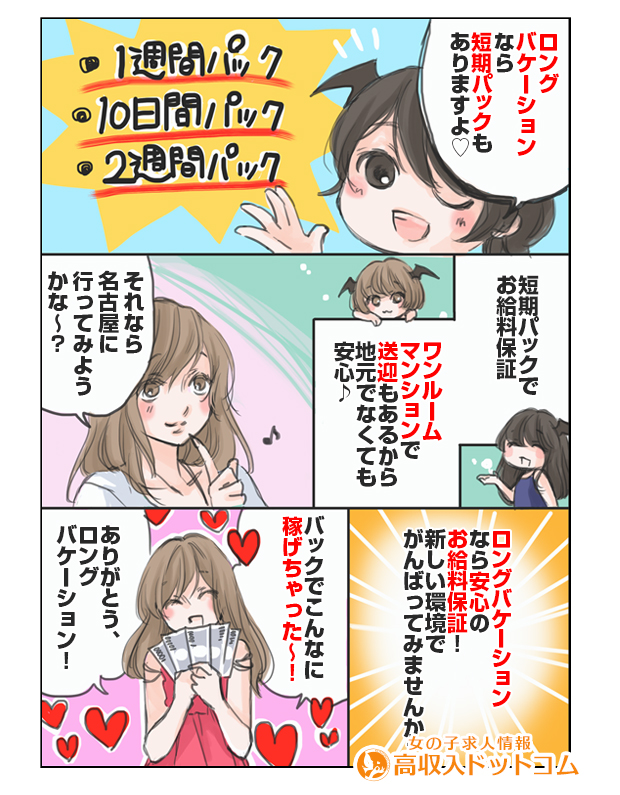 求人マンガ((有)ロングバケーション、栄/錦/丸の内、店舗型ヘルス)の2枚目