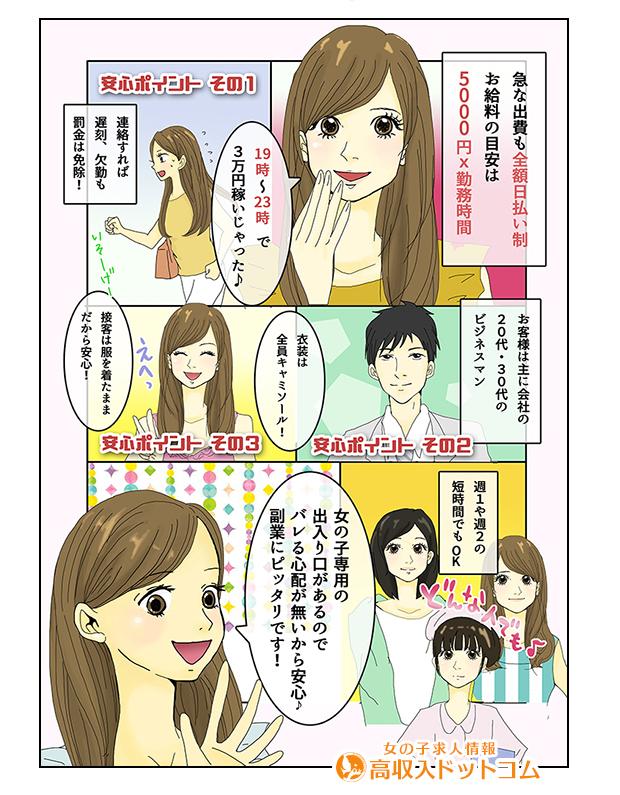 求人マンガ(ABC倶楽部、京橋、ピンクサロン)の2枚目